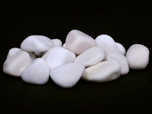 бял овален камък бял камък бял мрамор